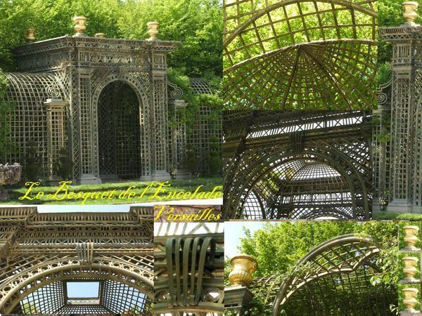 Les plus beaux treillages le blog de s gui christian - Le jardin de versailles histoire des arts ...