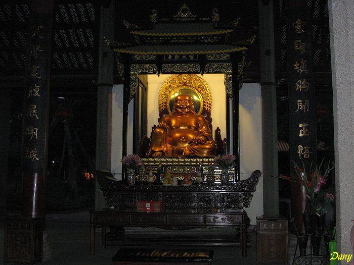 Nouvel an 2008 en Chine avec un Lama