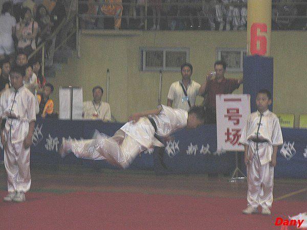 Competition de Tai chi à Guangzhou, 13/14 Aout 2008