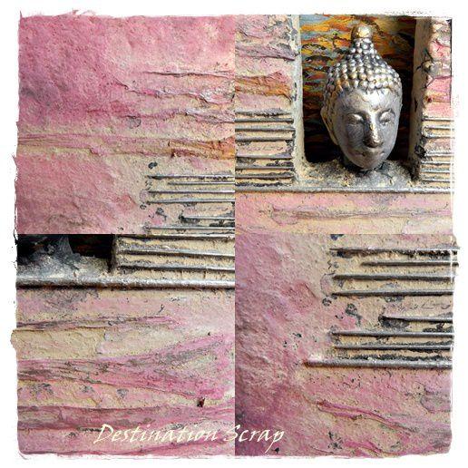 Collage Powertex Zen