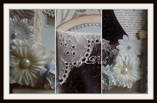 Collage canvas mariage
