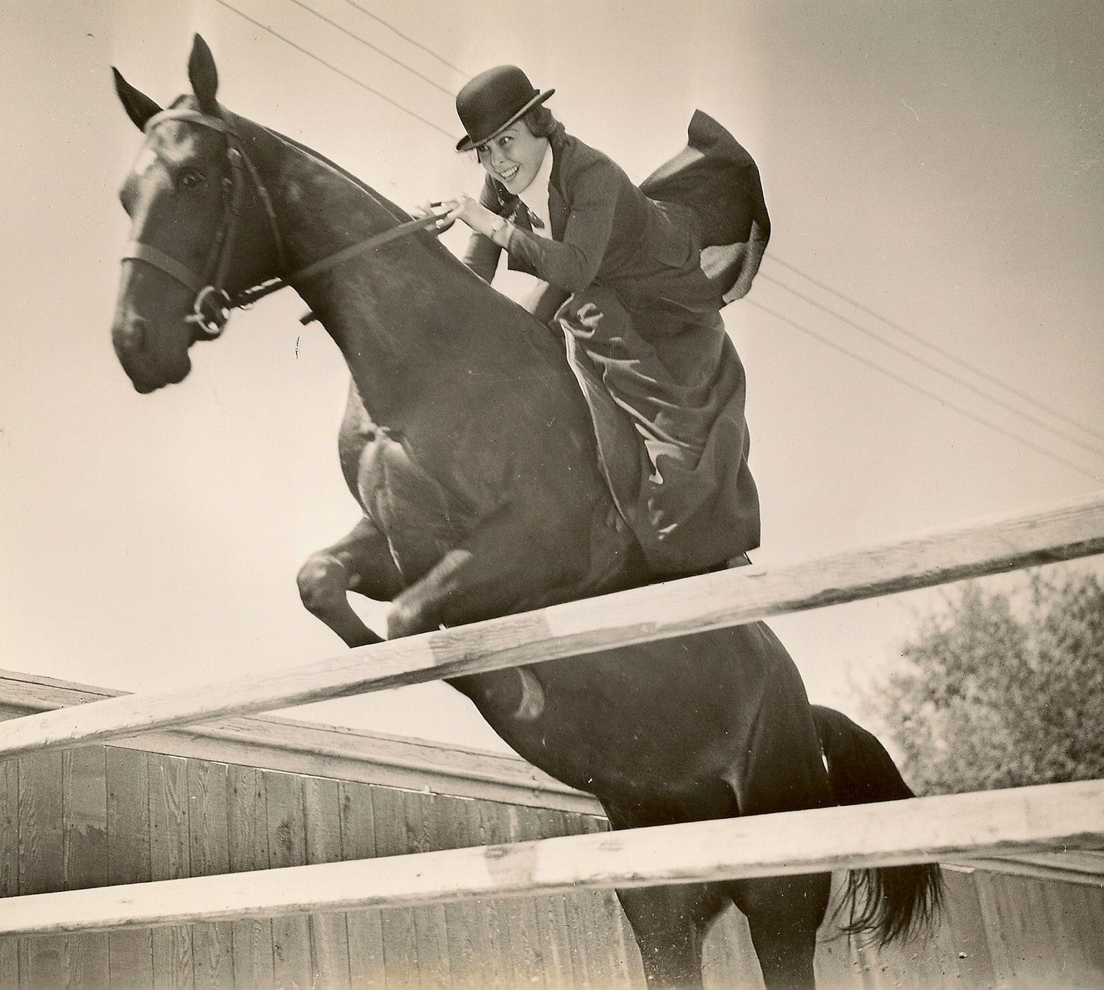 History(Story) of the horsemanship in rider and the saddle