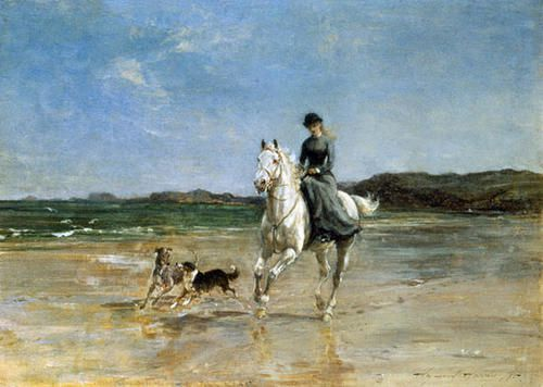 Heywood-Hardy-Horse-and-rider-on-a-winds