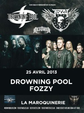 Drowning Pool Fozzy