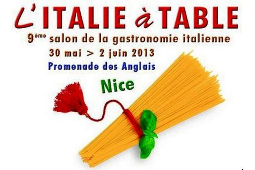 L 39 italie table nice for Chambre de commerce italienne nice