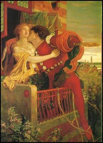 Première Rencontre Amoureuse De Roméo Et Juliette Au Bal
