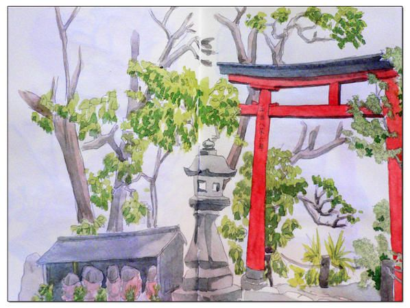 dessin jardin japonais. Black Bedroom Furniture Sets. Home Design Ideas