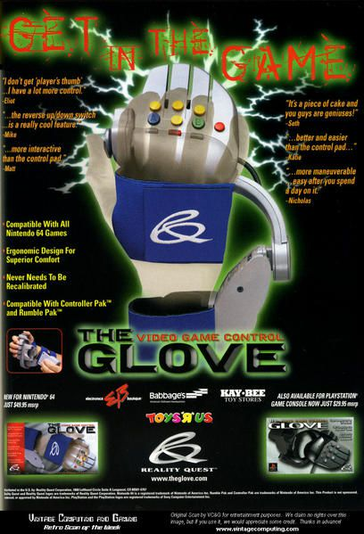 The Glove Reality Quest