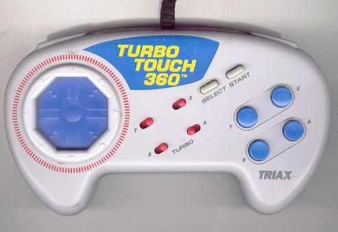 Turbo Touch 360 SNES