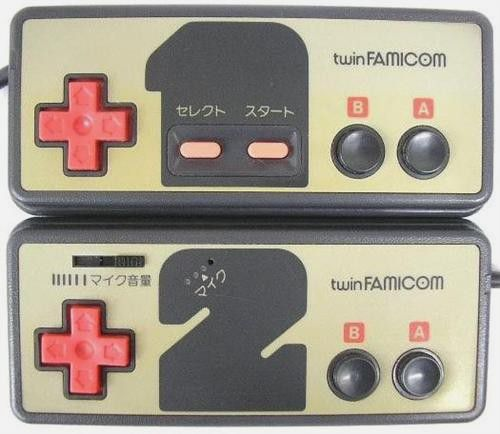 manettes twin famicom