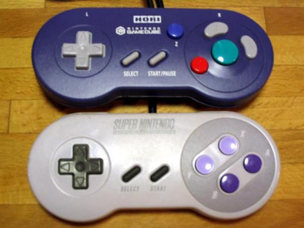 retro pad game cube