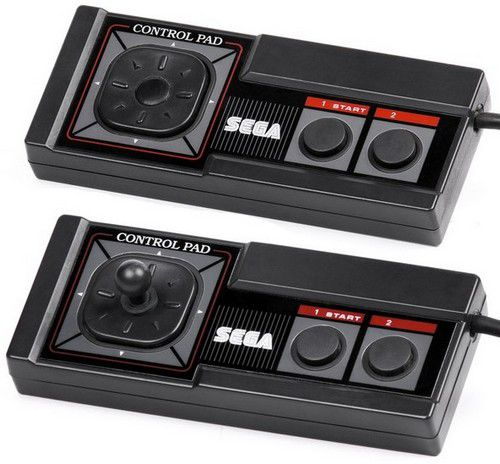 Sega-Master-System-Controllers