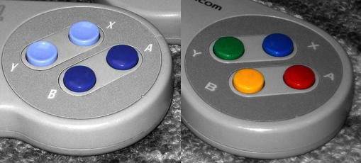 Super Famicom VS Super NES