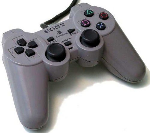 manette ps1 dual analog