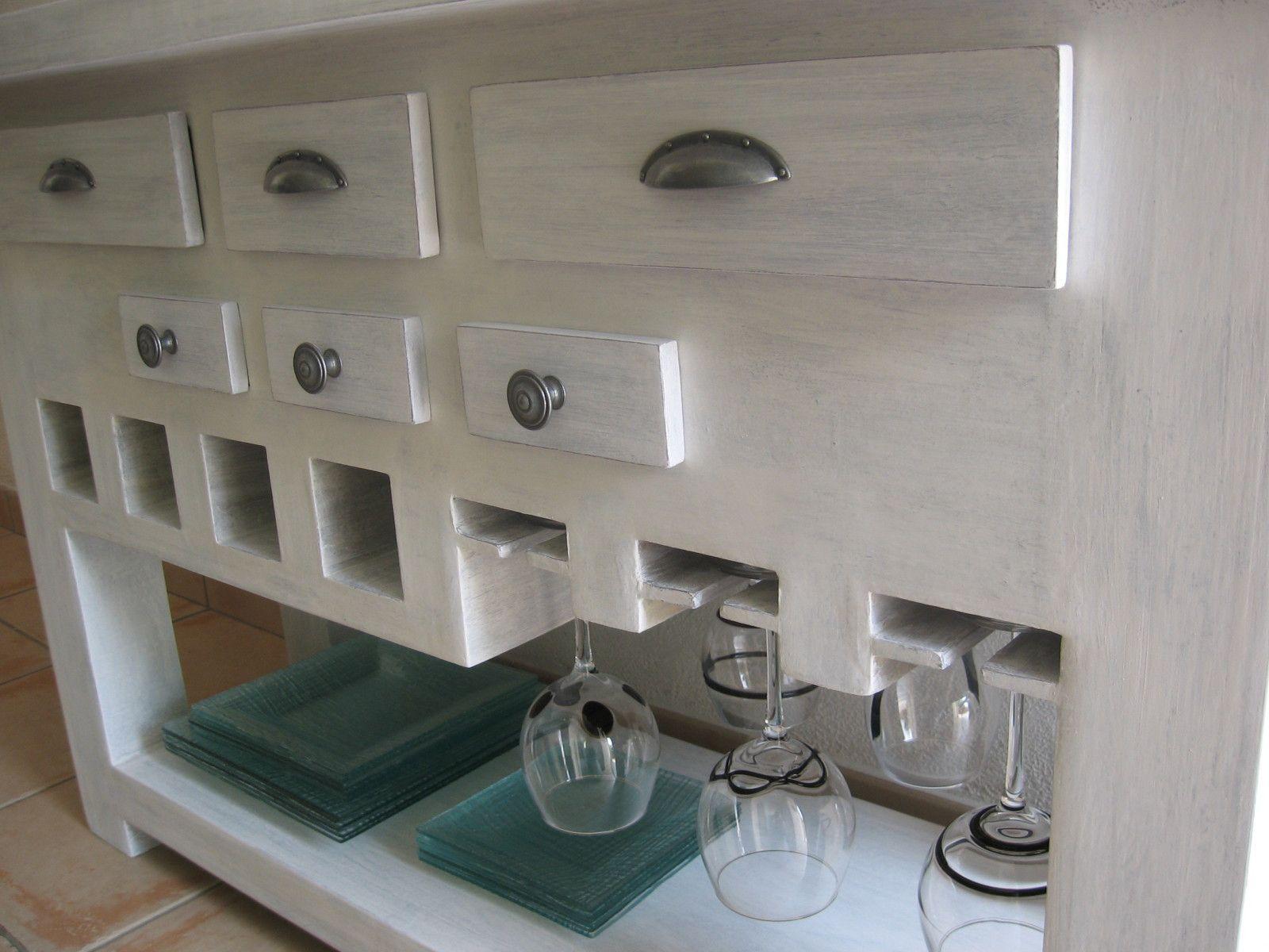 table console de cuisine termin e meubles en carton marie krtonne. Black Bedroom Furniture Sets. Home Design Ideas