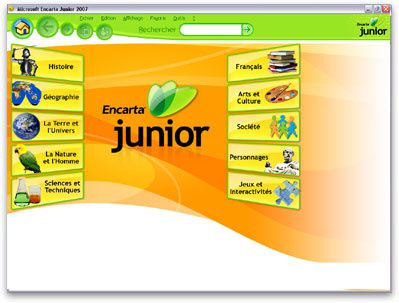 encyclopedie encarta junior