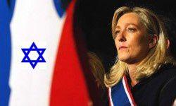 Marine Le Pen Israel