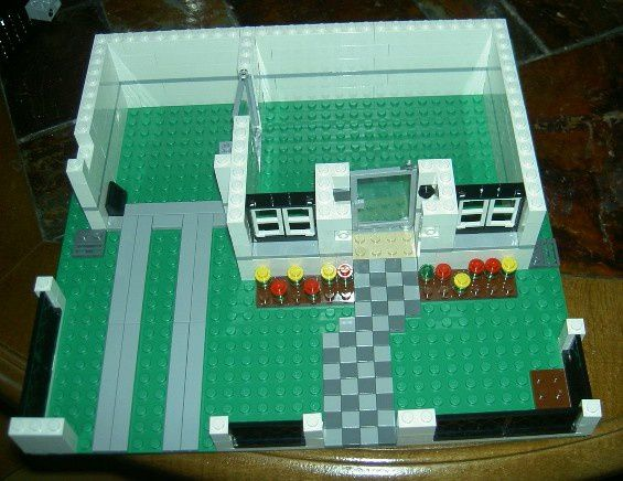 plan maison en lego. Black Bedroom Furniture Sets. Home Design Ideas