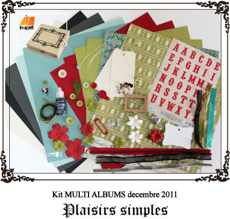Kit album plaisirs simples 1