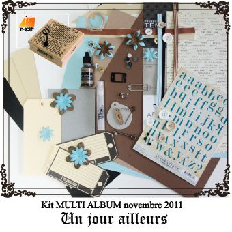 Kit mini album novembre