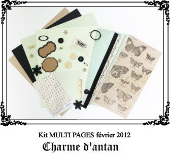Kit multi pages Charmes d'antan