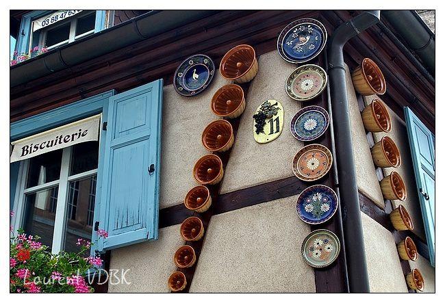 Alsace - Obernai - moules à kougelhof