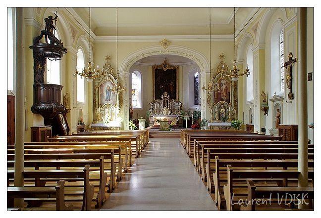 Alsace - Wettolsheim - Eglise