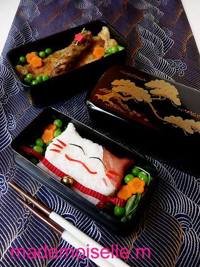 Bento maneki-neko octobre 2010 01