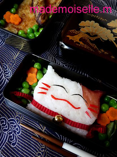 Bento maneki-neko octobre 2010 04