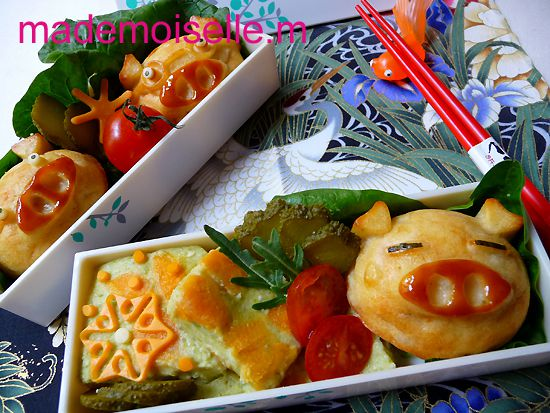Bento cochonnets mars 2012 01