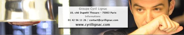 newsletter cyril lignac-bandeau