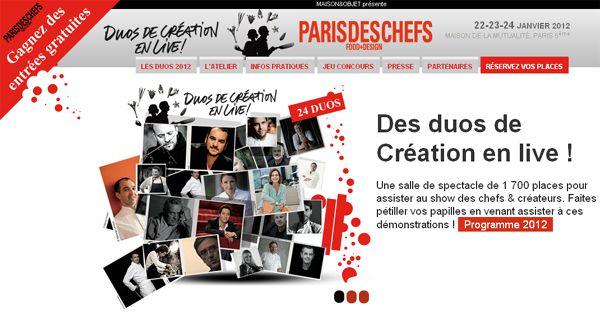 Paris des chefs 2012