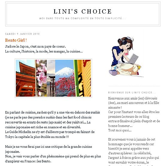 lini's choice 1