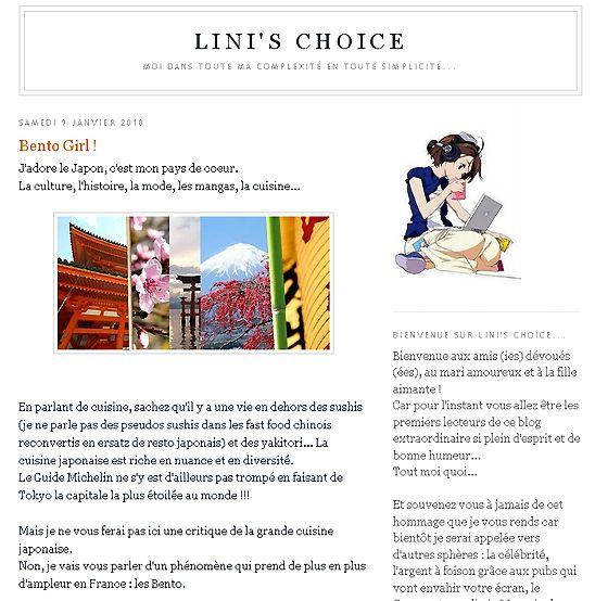 lini's choice 1