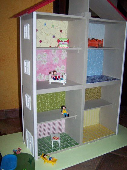 d coration de la maison playmobil en bois la d co de la tiote id es cr atives port e de tous. Black Bedroom Furniture Sets. Home Design Ideas