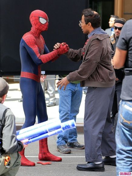 The Amazing Spider-Man 2 - Spidey and Max Dillon 01