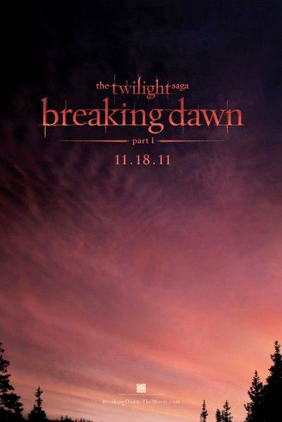 Twilight 4 Breaking Down Part 1 Affiche teaser