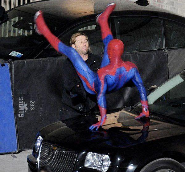 Spider-Man Reboot Andrew Garfield en costume 11