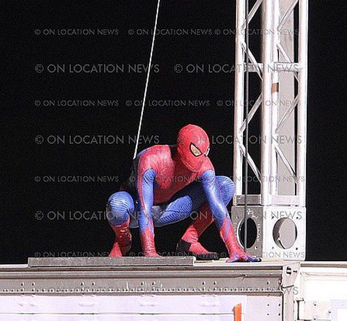 Spider-Man Reboot Tournage Los Angeles 01