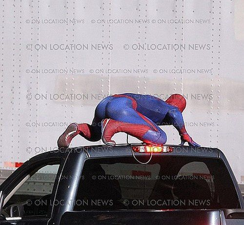 Spider-Man Reboot Tournage Los Angeles 05