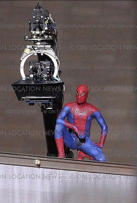 Spider-Man Reboot Tournage Los Angeles 06