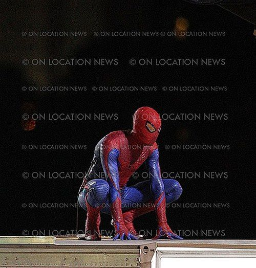 Spider-Man Reboot Tournage Los Angeles 07