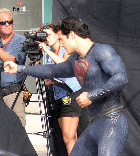 Man of Steel Henry Cavill Costume 02