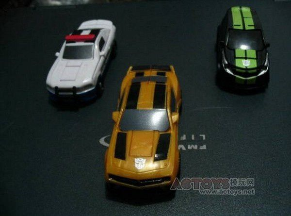 Transformers 3 - Toys Legends Barricade Skids and Bumblebee