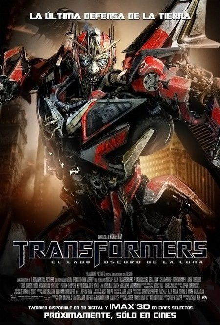 Transformers 3 DOTM New Poster