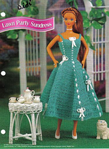Lawn party sundress
