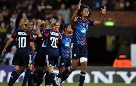 foot feminin OL championnes Europe 2