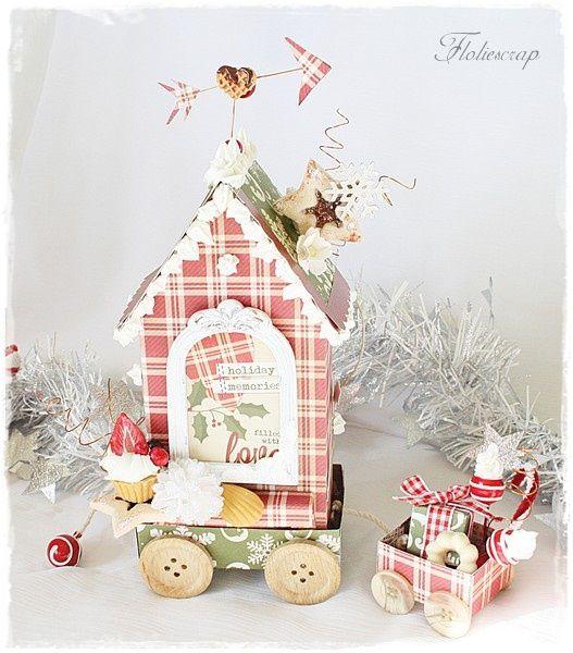 Gingerbread-Floliescrap 6027