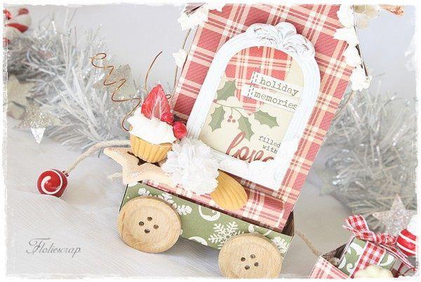 Gingerbread-Floliescrap 6030