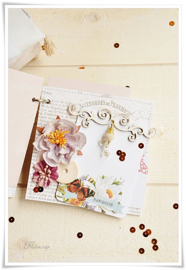 Mini-album-with-box-Floliescrap 0062